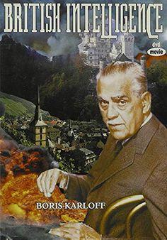 $2.00 British Intelligence (1940) Boris Karloff Alpha Video, Spy Shows, American Freedom, Movie Nights, World War One, Five Star, Movie Tv, British
