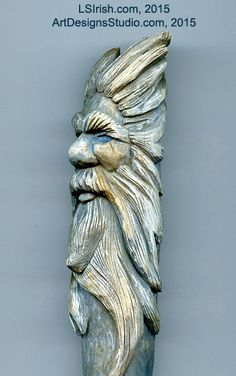Wood Spirit Carving, 13 Defining the Beard – Classic Carving Patterns Simple Wood Carving, Wood Carving Faces, Wood Carving Patterns, Wood Carving Art, Wood Carvings, Wood Pallet Tables, Wood Pallets, Wood Projects, Woodworking Projects