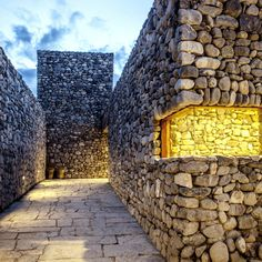 Archium gives rugged stone walls to a radio broadcasting station in Nepal