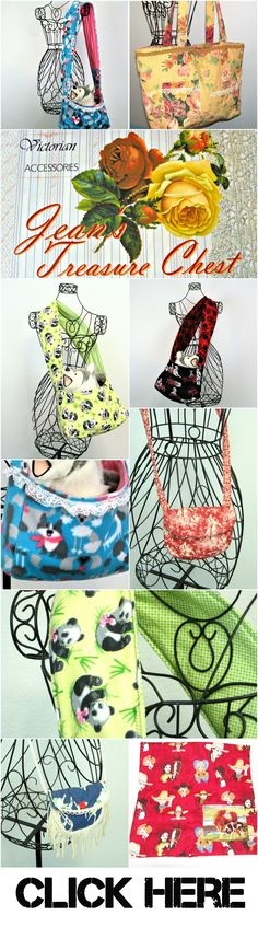 Please Check Out My Hand Made Bags, Totes & Slings At My Etsy Store. Thanks, Jean