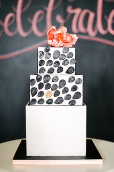 Playful wedding cake: http://www.stylemepretty.com/collection/2244/