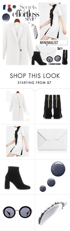 """""""Secrets of style"""" by ansev ❤ liked on Polyvore featuring STELLA McCARTNEY, J.W. Anderson, Topshop, Miu Miu, NARS Cosmetics, Stila, Minimaliststyle and shein"""
