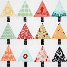vikki posted Christmas quilt to their -quilting fever- postboard via the Juxtapost bookmarklet. Christmas Tree Quilt Block, Little Christmas Trees, Noel Christmas, Christmas Crafts, Christmas Quilting, Simple Christmas, Christmas Ideas, Small Quilts, Mini Quilts