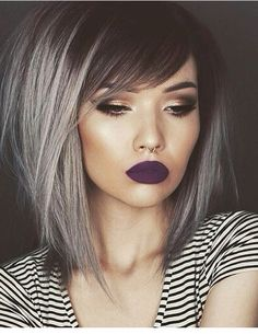 Love this hair and omg her lipstick