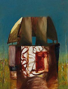 Sidney Nolan, Armour in Landscape (Kelly), 1956