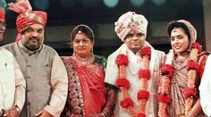 Senior Congress leader Kapil Sibal cited filings with the Registrar of Companies (RoC) and said it was surprising to see a company with no inventory or assets show a turnover of Rs 80.5 crore. Amit Shah with his wife at their son Jay Shah's wedding in Ahmedabad.