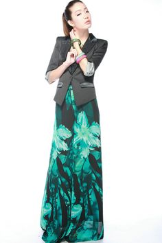 4XL plus size 2012 autumn summer fashion high waist wide leg printed flower chiffon dress pants culottes loose pant for women-inPants & Capris from Apparel & Accessories on Aliexpress.com