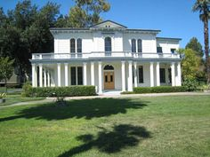 Vintage Victorian: The James Lick Mansion, an Italianate style home constructed of native redwood. Santa Clara, California. Circa 1858/60. Photo Credit: The Santa Clara Weekly