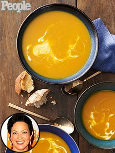 This looks really awesome!  • 1 tbsp. olive oil   • 1 medium onion, chopped   • 2 cloves garlic, minced   • ¼ tsp. ground allspice   • ¼ tsp. ground ginger   • 4 cups cubed butternut or other winter squash, fresh or frozen   • 4 cups low-sodium chicken broth or vegetable broth • ¾ tsp. salt • 1 tbsp. maple syrup •