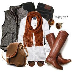 Fall Fashion 2013 | Black & White Vest | Fashionista Trends