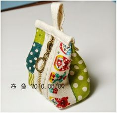 Miniature purse or cosmetic bag
