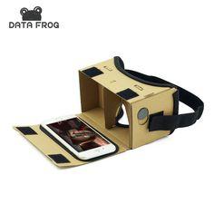 가상 현실 안경 google 판지 안경 3d 안경 vr 상자 영화 iphone 5 6 7 스마트 vr 헤드셋
