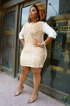 Great plus size fashion is hard to discover and I want to help you find it. Beautiful Plus size fashion is what we all deserve. Look Plus Size, Curvy Plus Size, Plus Size Girls, Plus Size Women, Curvy Girl Fashion, Cute Fashion, Plus Size Fashion, Plus Size Dresses, Plus Size Outfits