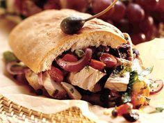 Mediterranean Grilled Tuna Sandwich Recipe from Betty Crocker