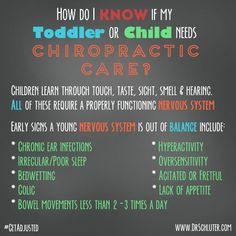 You live every aspect of your life through your nervous system. Doesn't it make sense to keep it working properly, especially when you're young. We want to help keep you AND your children healthy! #getadjusted #chiropractic Visit: http://thegoodlifechiropractic.com