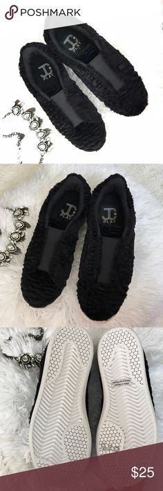 🎀Fluffy Sneakers🎀 Jeffrey Campbell Play So cute and comfy.! Brand new without box, never been worn as seen in the pics.! These are size 7 but run a tad small, I'd say more of a 6 1/2. 🎀Bundle 2 or more items for 15% off 🎀 Jeffrey Campbell Shoes Sneakers