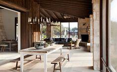 Farmhouse Porch by Dalgleish Construction Company