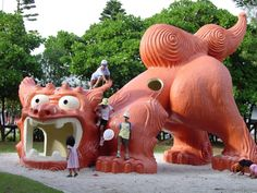 Okinawa playground - the play grounds there were the best ive ever seen.. very awesome! USA doesn't even scratch the surface. tbh