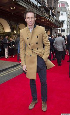 6 Lessons Eddie Redmayne Can Teach Men About Dressing Smart. Invest in a wool camel coat. It will elevate anything!
