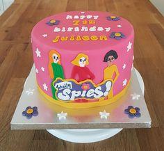 Totally Spies theme birthday cake