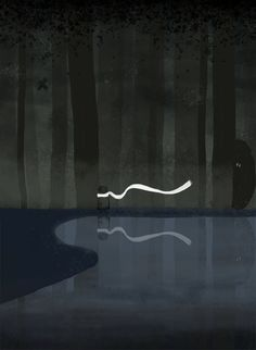 They follow - Odd Friends by Kira Bang-Olsson