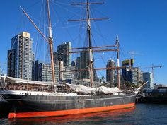 San Diego has a long maritime history. There's a naval base in the harbor and a marine base just up the road. The incredible USS Midway is nearby and available to tour. So it's not surprising that the San Diego Maritime Museum celebrates ships of so many different eras. There are sailing ships from the 1800s, submarines, even a massive ferryboat that's a beautiful example of turn-of-the-last-century design and ornamentation…