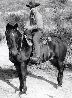 Bob on his horse Hoot