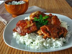 A collection of recipes from around the world: Chicken with teriyaki sauce  Ingredients :8 chicke...