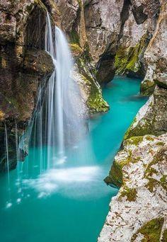 Turquoise, Soca River, Slovenia