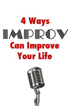How Improv Can Improve Your Life #levoleague #articles