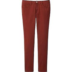 Men's Stretch Skinny Fit Colored Jeans