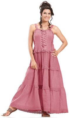 Shop Ashlee Bohemian Gypsy Peasant Ruffle Cotton Corset Vintage Sun Dress In Salmon Rose: http://holyclothing.com Repins are always appreciated :) #HolyClothing #fashion #Bohemian # Gypsy #Ruffle #Peasant ##Cotton #Corset #Vintage #Sun #Dress