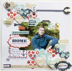 TERESA COLLINS DESIGN TEAM: My Home - A Family Stories Layout by @Leslie Ashe