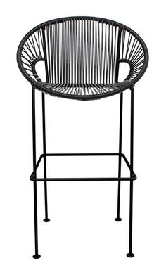 The Acapulco chair design is based on Mayan hammock weaving technique and it's rendered in a retro-modern form. Its weave perfectly cradles the body.