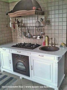 Landhaus Küche Massivholz