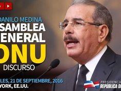 277 medios transmitirán en vivo el discurso de Danilo Medina en ONU