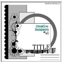 Cricut Inspired Scrapbook Layouts: Cricut CUT Files...cut files for this layout