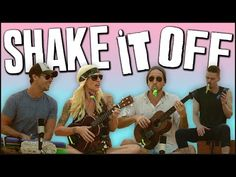This Ukulele and Kazoo Cover of Taylor Swift's 'Shake It Off' is as Addictive as the Original., so I don't recommend you throwing your ukulele around. But it looks cool. General Music Classroom, Classroom Fun, School Songs, School Videos, Brain Break Videos, Walk Off The Earth, Middle School Music, Acoustic Covers, Taylor Swift Songs