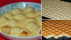 Békebeli aranygaluska vaníliakrémmel ~ A Retro Klub Hivatalos Oldala Hungarian Desserts, Hungarian Cuisine, Slovak Recipes, Czech Recipes, Czech Desserts, Salty Snacks, Bread And Pastries, Eat Smart, Sweet Cakes