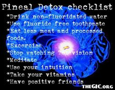 How to Decalcify Your Pineal Gland by The Natural Health Page. Let's just bypass all the astro-projection stuff for now. If your putting poison into your body your pineal gland is going to react to that. Pineal Gland Detox, Decalcify Pineal Gland, Pineal Gland Facts, Chakras, Master Of The Universe, Chakra Meditation, Meditation Music, Mindfulness Meditation, Chakra Healing
