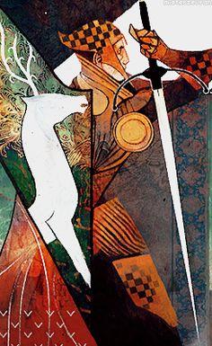 Dragon Age: Inquisition card - Warrior