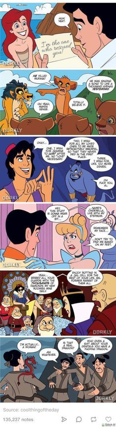 If Disney movies had quicker endings - 9GAG