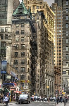 Lower Manhattan, New York City by Greg Woolliscroft