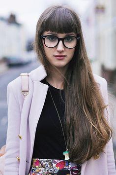 Round Clear Lens Wayfarer Glasses