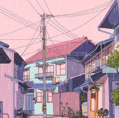 vaporwave color palette aesthetics, chill, and gif Vaporwave, Aesthetic Art, Aesthetic Anime, Aesthetic Drawings, Aesthetic Pastel, Japanese Aesthetic, Pixel Art, Character Illustration, Illustration Art