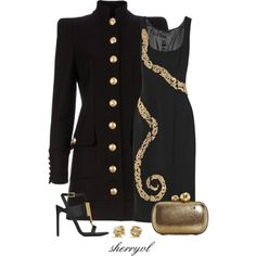 """""""Military Look Contest"""" by sherryvl on Polyvore"""