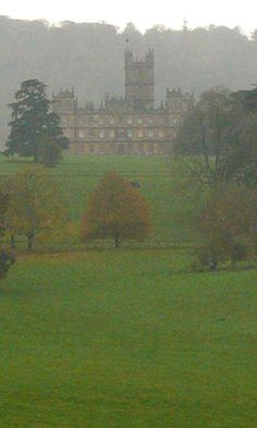 A misty morning at Highclere Castle - Image © Phil Howe