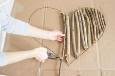 How to Make an Interesting Art Piece Using Tree Branches