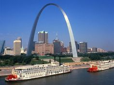 City of St. Louis in Missouri