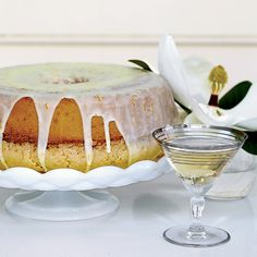 Lemon-and-Orange Glazed Pound Cake // More Great Cakes: http://www.foodandwine.com/slideshows/cakes #foodandwine